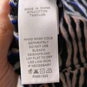 CeCe Dresses - CeCe Jacquard Ombré Grid Ladies XL Dress